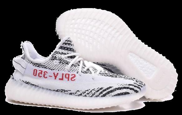 Фото Adidas Yeezy Boost 350 V2 Белые - 3